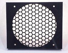 "Triple 5.25"" to 120mm fan base honeycomb tray drive bay bracket 3 slot mod PC"