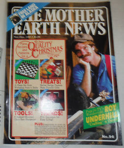 The Mother Earth News Magazine Roy Underhill & Christmas December 1985 020515R