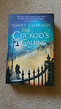 THE CUCKOO'S CALLING  by Robert Galbraith (J K ROWLING)  1st/1st  One of 1500