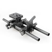 CAMVATE Camera Shoulder MountKit Lens Support Rod Clamp for 15mm Rail Rod System