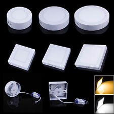 Round/Square Dimmable 9W 15W 21W LED Panel Light Surface Mounted Recessed Light