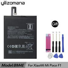 Original YILIZOMANA BM4E Battery for Xiaomi Mi Pocophone Poco F1 4000mAh +Tools