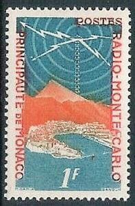 MONACO - 1951 Radio Monte Carlo 1F MNH
