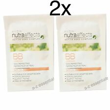 2x Avon Nutraeffects Radiance BB Cream Samples-light