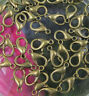 100Pcs 12/14/16mm Jewelry Loose Lobster Clasp For Necklace Bracelet Making DIY