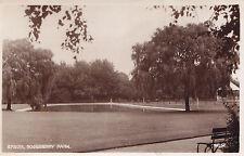 Roseberry Park EPSOM Surrey England UK 1930s Photochrom Real Photo PC 74094