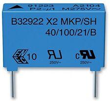 Condensatore, Classe X2, 680NF, 305VAC B32922C3684M