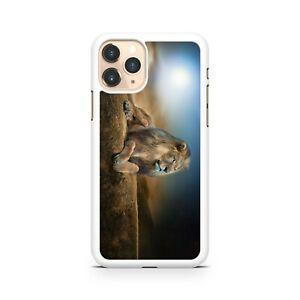Powerful Tough Majestic Lion Animal Enjoying The View Blue Sky Phone Case Cover