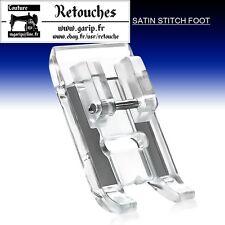 Pied point bourdon pied transparent semelle de pied satin machine à coudre