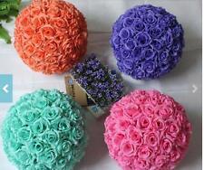 Mint Rose Flower Ball Pomander Wedding Ball Kissing Ball 11-12 inches USA