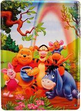 Kinder Trickfilm Tiere Blechschild 11x8 cm Reklame Retro Blechkarte 69