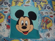 Vintage 80's WALT DISNEY WORLD Mickey Mouse All Over print Sleeveless T Shirt L