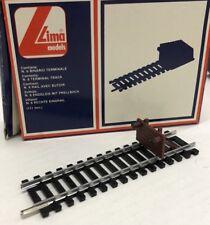 scatola LIMA 3025 - x 6 Binario Terminale 111 mm - Nuovo/New Fondo Magazzino Ho
