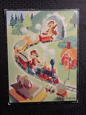 1953 Walt Disney Whitman Chip 'N Dale Frame-Tray Puzzle 11.5x15 Vg+ 4.5