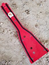 Kased Plates '06-'09 Suzuki LTR450 3MM RED Lifetime Warranty Frame Skid Plate