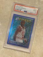 1995 Finest #229 Michael Jordan PSA 9 Bulls - W/ Coating