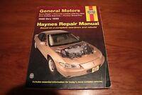 HAYNES REPAIR MANUAL 1988 - 1999 GM Buick Regal CHEV LUMINA Pontiac Grand Prix +