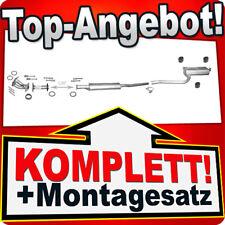 Auspuff TOYOTA AVENSIS (T22) 1.6 Stufenheck Liftback +Rohre Auspuffanlage R07