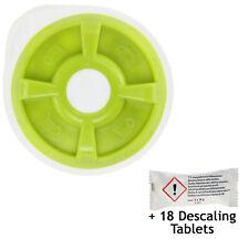 Disco de Agua Caliente Verde + 18 Tabletas de Descalcificación Para Cafetera Tassimo AMIA T20