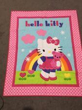 Brand New Handmade Baby Boy Girl Hello Kitty Cot Quilt Play Mat