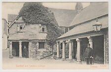 Devon postcard - Guildhall and Sexton's Cottage, Totnes (A1510)