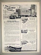 Fruehauf Trailers PRINT AD - 1944