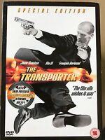 Jason Statham TRANSPORTER ~2002 action film Regno Unito Edizione Speciale DVD