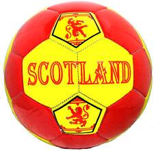 Scotland Soccer Ball Rampant Lion, size 5....Scottish,Bagpipes  .FREE SHIPPING!!