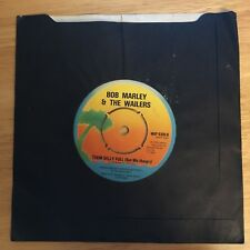BOB MARLEY & THE WAILERS - ROOTS ROCK REGGAE/ THEM BELLY FULL (But We Hungry) 7""