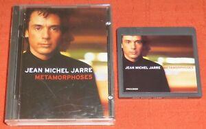 JEAN MICHEL JARRE - MINIDISC - METAMORPHOSES