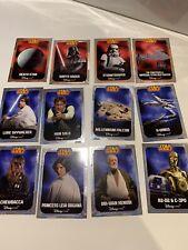 Star Wars 12 Disney Store Promo Card Set 2014