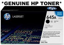 HP Genuine/Original Colour C9730A Black 645A Toner Cartridge 5500/5550 Laser NEW