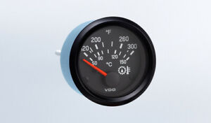 "VDO gauge Oil Temp 300F genuine Cockpit 310-936, 2""/52mm, bracket, w/harness"