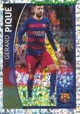 575 GERARD PIQUE  PLAYER WATCH FC.BARCELONA STICKER CHAMPIONS LEAGUE 2016 TOPPS