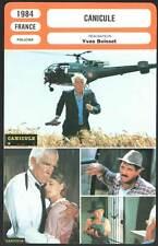 CANICULE - Marvin,Miou-Miou,Carmet,Boisset (Fiche Cinéma) 1984 - Dog Day
