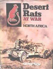 DESERT RATS AT WAR North Africa George Forty Ian Allan Seconda Guerra Mondiale