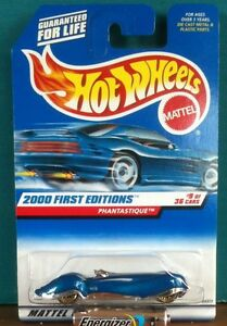 2000 First Editions Phantastique- #9 of 36 Hot Wheels #069