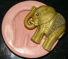 SILICONE MOULD ELEPHANT ASIAN WEDDING BIRTHDAY CUPCAKE CAKE JEWELRY RESIN FIMO