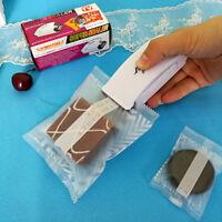 Mini Smart Sealer White Kitchen Heat Seal Machine Portable for Plastic Bags