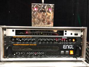ENGL Gitarrenvertstärker Set ENGL 530 und 830/50 im Rack mit Footswitch