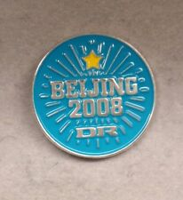 2008 BEIJING DR DENMARK RADIO MEDIA OLYMPIC PIN
