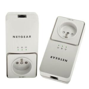 2 x Netgear AV+ 200 Powerline Starter Kit Netzwerk Adapter XAV2501