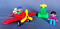 Lego Duplo My First Red Plane Airplane Town #5592