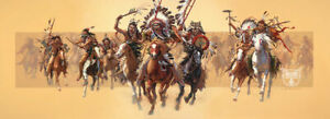 Bev Doolittle Beyond Negotiations Giclee' Canvas Hand Signed And Numbered W/COA