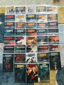 Large Lot of Hellboy Comic Books - Dark Horse - 38 Books Total
