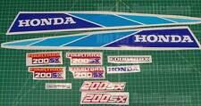 Honda 86' 1986 200sx 11pc FOURTRAX ATV ATC Quad Decals Sticker GRAPHICS