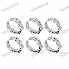 """100PCS 1/2"""" Stainless Steel Ear PEX Clamp Cinch Rings Crimp Pinch Fitting"""