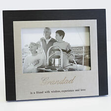 Fathers Day Grandad Picture Photo Frame Gift Idea for Dad Premium Glass Quality