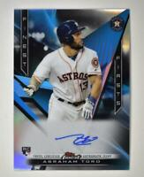 2020 Topps Finest Firsts Auto #FFA-AT Abraham Toro RC - Houston Astros