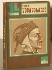 PRIMO VOCABOLARIO GIACOMO VITTORIO PAOLOZZI 1974